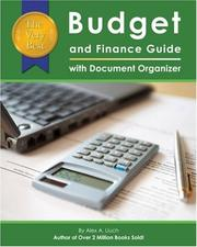Cover of: The Very Best Budget and Finance Guide with Document Organizer | Alex A. Lluch
