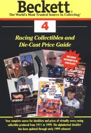 Cover of: Beckett Racing Price Guide and Alphabetical Checklist (Beckett Racing Collectibles Price Guide) |