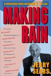 Cover of: Making Rain | Jerry Sears