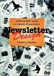 Cover of: Newsletter Design | Edward A. Hamilton