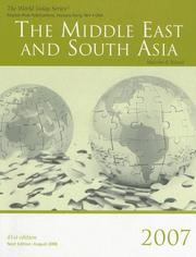 Cover of: The Middle East and South Asia 2007