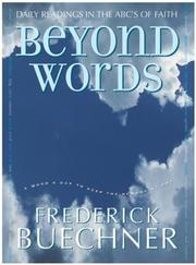 Cover of: Beyond Words