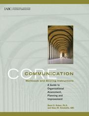 Cover of: Core Communication Workbook and Scoring Instructions
