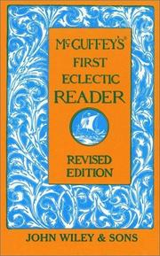 Cover of: McGuffey's First Eclectic Reader