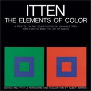 The elements of color by Itten, Johannes