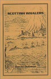 Cover of: Scottish Whalers
