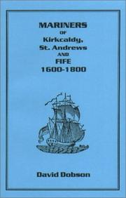 Cover of: Mariners of Kirkcaldy, St. Andrews and Fife 1600-1800