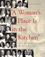 Cover of: A Womans Place Is in the Kitchen | Ann Cooper