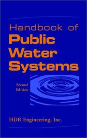 Cover of: Handbook of Public Water Systems, 2nd Edition | HDR Engineering Inc.