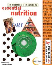 Cover of: An Electronic Companion to Essential Nutrition¿ (Electronic Companion Series) | Paul Insel