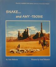 Cover of: Snake... and Amy-Tsosie (The All American Series) (The All American Series) | June Behrens