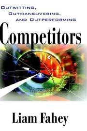 Cover of: Competitors | Liam Fahey