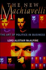 Cover of: The new Machiavelli