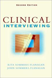 Cover of: Clinical interviewing