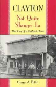 Cover of: Clayton: not quite Shangri-La