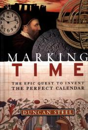 Cover of: Marking time