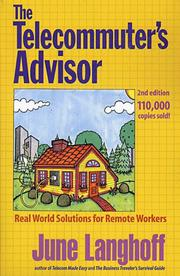 Cover of: The Telecommuter's Advisor