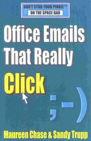 Cover of: Office Emails that Really Click | Maureen Chase