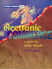 Cover of: Electronic Commerce | Tod Newcombe
