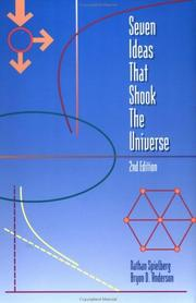 Cover of: Seven ideas that shook the universe