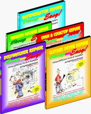 Cover of: Cheap and Easy! Appliance Repair (5-Book Set: Washing Machines, Dryers, Refrigerators, Dishwashers, Ovens & Cooktops) (Cheap and Easy! Appliance Repair Series)