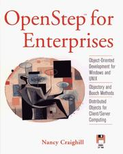 Cover of: OpenStep for enterprises
