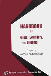 Cover of: Handbook Of Fillers, Extenders, And Diluents | Micahel Ash