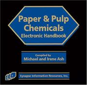 Cover of: Handbook of Paper and Pulp Chemicals (Synapse Chemical Library) |