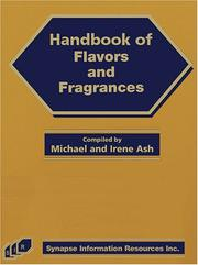 Cover of: Handbook of Flavors and Fragrances