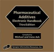 Cover of: Pharmaceutical Additives Electronic Handbook