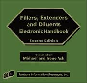 Cover of: Fillers, Extenders, and Diluents Electronic Handbook, Second  Edition