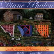 Cover of: Quilts From A Painter's Art 2006 Calendar
