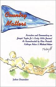 Cover of: Country Matters | John Osander