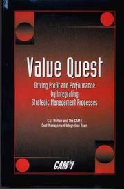Cover of: Value Quest | C. J. McNair