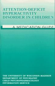 Cover of: Attention-Deficit Hyperactivity Disorder in Children  | Hugh F. Johnston