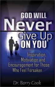 Cover of: God Will Never Give Up on You