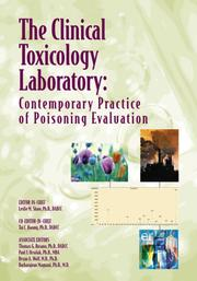 Cover of: The Clinical Toxicology Laboratory