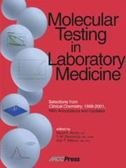 Cover of: Molecular Testing in Laboratory Medicine