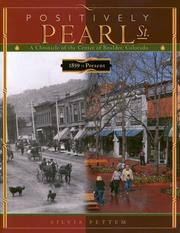 Cover of: Positively Pearl Street | Silvia Pettem