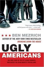 Cover of: Ugly Americans | Ben Mezrich