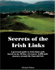 Cover of: Secrets of the Irish Links