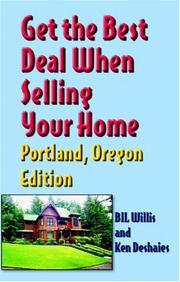Cover of: Get The Best Deal When Selling Your Home | Bil Willis