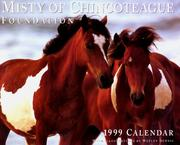 Cover of: Misty of Chincoteague Foundation calendar