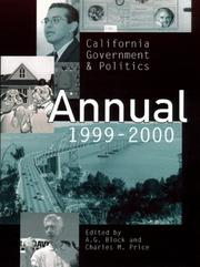 Cover of: California Government & Politics Annual 1999-2000
