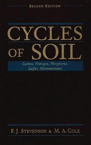 Cover of: Cycles of soil