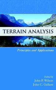 Cover of: Terrain Analysis |