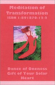 Cover of: Meditation of Transformation