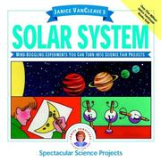 Cover of: Janice VanCleave's solar system