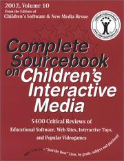 Cover of: Complete Sourcebook on Children