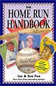 Cover of: The Home Run Handbook (1)